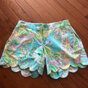 Lilly Pulitzer buttercup shorts.